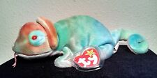 """TY Beanie Baby Original """"Rainbow"""" no spikes/with tongue 1998 Retired"""