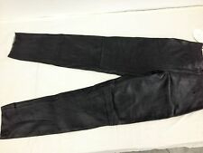 Ladies lined Leather Pants size large