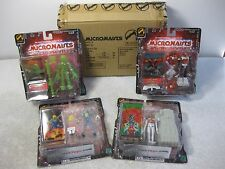 Micronauts Palisades s1.5 set4 Acroyear Space Glider Membros Time Traveler Medic