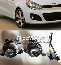 Fit: KIA RIO5 2012-2015 Genuine Fog Light lamp, Cover, Connector 6P