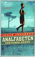 Jonas Jonasson SCHWEDISCH: Analfabeten Som Kunde Räkna, TASCHENBUCH
