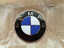 VINTAGE BMW TANK EMBLEM FITS R50/5, R60/5 AND R75/5 TANK  SCREW ON TYPE