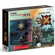 NEW Nintendo 3DS Monster Hunter Cross X Kisekae plate pack Japan Import F/S