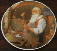 Knowles/Rockwell Lt Ed Plate: Wrapped up Christmas 1981