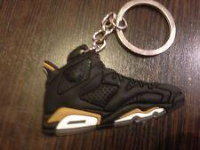 Air Jordan VI Schlüsselanhänger Golden Medal Sneaker Keychain 6 Black