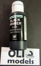 Acrylic Polyurethane Surface PRIMER BLACK 60ml - VALLEJO 73602