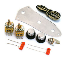 Stack Knob Wiring Kit w/Knobs & Control Plate for '62 Fender Jazz Bass® SKB-KIT