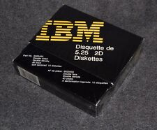 IBM 5.25 DS DD Floppy Discs Ten diskettes No. 6023450 disks VTG 1985