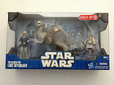 """STAR WARS THE SEARCH FOR LUKE SKYWALKER FIGURE PACK 3,75"""" TARGET EXCLUSIVE MIB 1"""