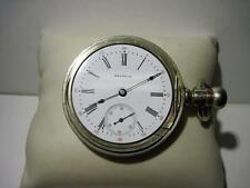 Vintage 1902 Waltham 18S PS Bartlett 17 Jewel Adjusted Pocket Watch