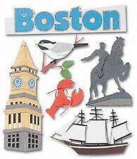 Jolee's BOSTON Stickers MASSACHUSETTS