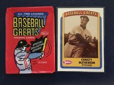 Christy Mathewson HOF Giants  1990 Swell Baseball Greats #134