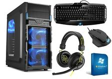 PC Quad Core Computer GAMER A8 7600 4x 8GB 1TB Computer Complete Windows 7 Pro