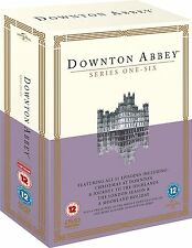 DOWNTON ABBEY DOWNTOWN ABBEY COMPLETE SEASON SERIES 1+2+3+4+5+6 DVD Box Set sale