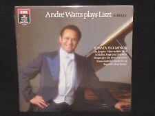 ANDRE WATTS ~ Plays Liszt Album 2 (SEALED) ~ U.S. EMI ANGEL DIGITAL - classical