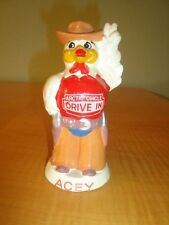 50s ARCTIC CIRCLE DRIVE INN ACE THE CHICKEN CHALKWARE FIGURAL ADVERTISING BANK