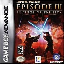 STAR WARS EPISODE III  NINTENDO GAME BOY ADVANCE DS COMPATIBLE PAL FORMAT