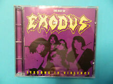 EXODUS - LESSONS IN VIOLENCE / BEST OF - CD Century Media 66056-2