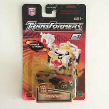 "Vintage TRANSFORMERS RID Spy Changers "" IRONHIDE "" Autobot - Rare"
