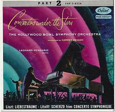 Concertos Under the Stars Part 2 / Hollywood Bowl Symphony Orchestra - 45 RPM