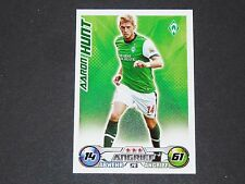 HUNT WERDER BREMEN TOPPS MATCH ATTAX PANINI FOOTBALL BUNDESLIGA 2009-2010