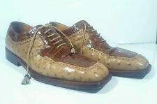 Crocodile Alligator Hand Made Beautiful Dee Italian size 9 RARE