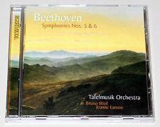 BEETHOVEN - SYMPHONIES NO 5 & 6 - CD NEUWERTIG - SINFONIEN TAFELMUSIK WEIL LAMON