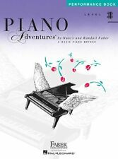Faber Piano Adventures Level 3B Peformance Learn to Play LESSON MUSIC BOOK