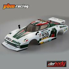 KILLERBODY LANCIA STRATOS 1977 GIRO 195mm 1/10 RC Auto Rally finito Corpo 48250