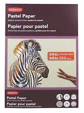 Derwent Pastel Pad - 24 Sheets of Neutral Grey, Acid Free 200gsm Paper - A5 Pad