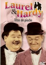 LAUREL & HARDY - TETES DE PIOCHE /*/ STAN LAUREL - OLIVER HARDY DVD NEUF/CELLO