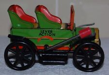 TPS JAPAN TIN LEVER ACTION CAR (WORKS PERFECTLY