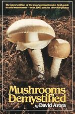 Mushrooms Demystified by David Arora (1986, Paperback)