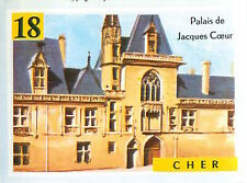 IMAGE CARD 60s DEPARTEMENTS FRANCE 18 CHER BOURGES Palais de Jacques Coeur