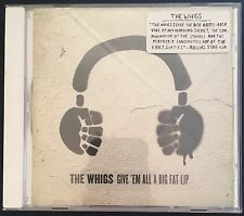The Whigs - Give'Em All A Big Fat Lip CD Album Roots Rock
