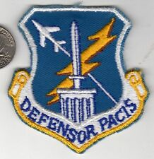 US Air Force Squadron Color Patch DEFENSOR PACIS 4500th Air Base Wing