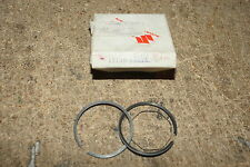 SUZUKI GENUINE A50 AP50 A50P PISTON RINGS 0.50 O/S CLASSIC MOPED 12140-05829 NOS