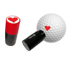 HEART - ASBRI GOLF BALL STAMPER, GOLF BALL MARKER - GOLF GIFT OR PRIZE