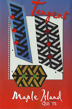 Tangent Quilt Table Runner Placemat Pattern Maple Island Quilts DIY 3  Layouts