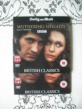 PROMO DVD 2 DISC FILM SET - WUTHERING HEIGHTS  - BRITISH /CLASSICS SERIES TWO
