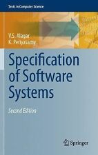 Specification of Software Systems by V. S. Alagar and K. Periyasamy (2013,...