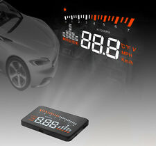 "X5 3"" Car HUD Head Up Display OBD-II  Speed Warning System Low Voltage Alarm"