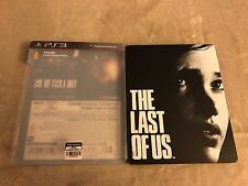 The Last Of Us Rare Japanese Steelbook Ps3 PlayStation 3