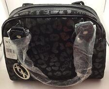 """XOXO Handbag NWT Black XOXO Silver Tag Lip Design 10.5"""" Tall 13"""" Length 4.5""""Deep"""