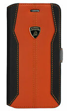 LAMBORGHINI HURACAN LEATHER IPHONE 6 PLUS/6S PLUS (5'5) BOOK TYPE CASE COVER ORA