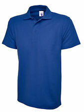 Uneek Active Polo Shirt Mens Sports Polo Top 200gsm 11 Colours Available (UC105)