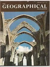 the geographical magazine-AUG 1962-ST CATHERINE'S,VISBY.