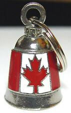 CANADIAN FLAG GUARDIAN BELL gremlin mod harley iron head chopper rigid dyna ENAM