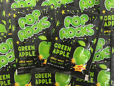 Pop Rocks Green Apple 12 COUNT Classic Popping Candy FREE SHIPPING