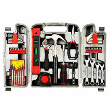 53P Precision Red General Tool Set Homeowner's Kit Toolbox Household hand Tools